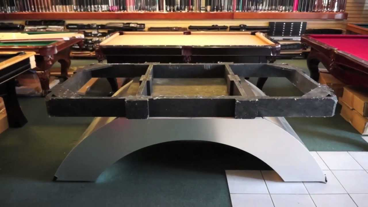 Pool Table Installation Step The Base YouTube - Pool table base