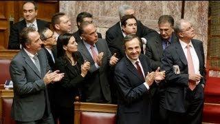 البرلمان اليوناني يقر ميزانية عام 2013