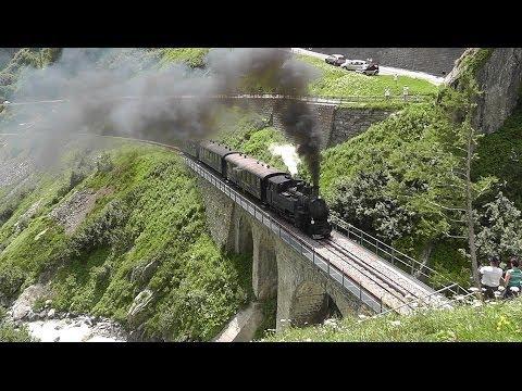 Dampfbahn Furka Bergstrecke 2013