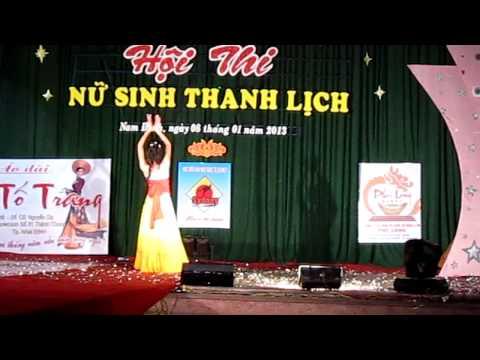 Miss CĐSP Nam Định_ Phạm Thị Thu - CĐ Mầm Non 33