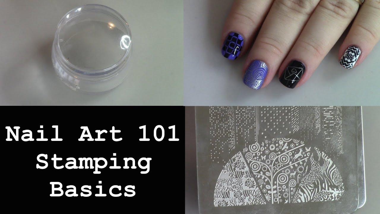 Nail art 101 stamping basics youtube nail art 101 stamping basics prinsesfo Images