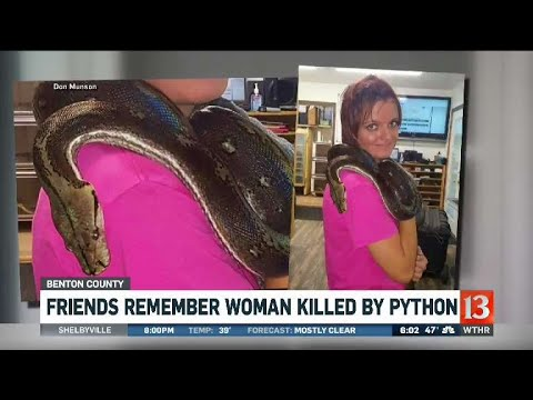 Woman Killed By Python Youtube