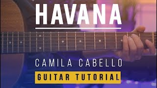 Video Havana - Camila Cabello | EASY Guitar Tutorial (Lesson) How to play Melody & Chords download MP3, 3GP, MP4, WEBM, AVI, FLV Mei 2018