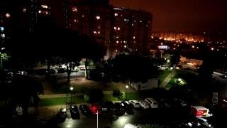 Live video Furacão leslie, Lisboa. 13.10.2018