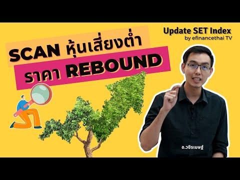 Update Set Index 8/11/62 Scan หุ้นเสี่ยงต่ำ ราคา rebound