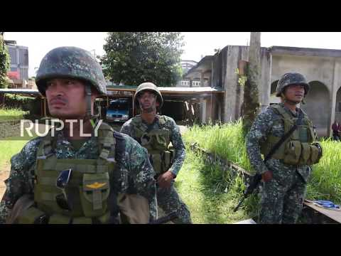 Philippines: Armed forces continue battle against Maute fighters in Marawi