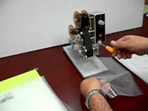 VIDEO MAQUINA LOTE Y FECHA DE CADUCIDAD MODELO DY-8 de YouTube · Duración:  2 minutos 53 segundos  · Más de 55.000 vistas · cargado el 25.11.2010 · cargado por Cierres Flexibles