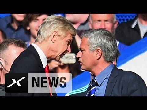 Jose Mourinho Vs. Arsene Wenger: Die Ewige Fehde | FC Chelsea - FC Arsenal