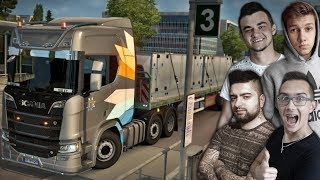 Tokyo Drift Ciężarówką !? Euro Truck Simulator MP z Ekipą #2 ㋡ MafiaSolec [MST]