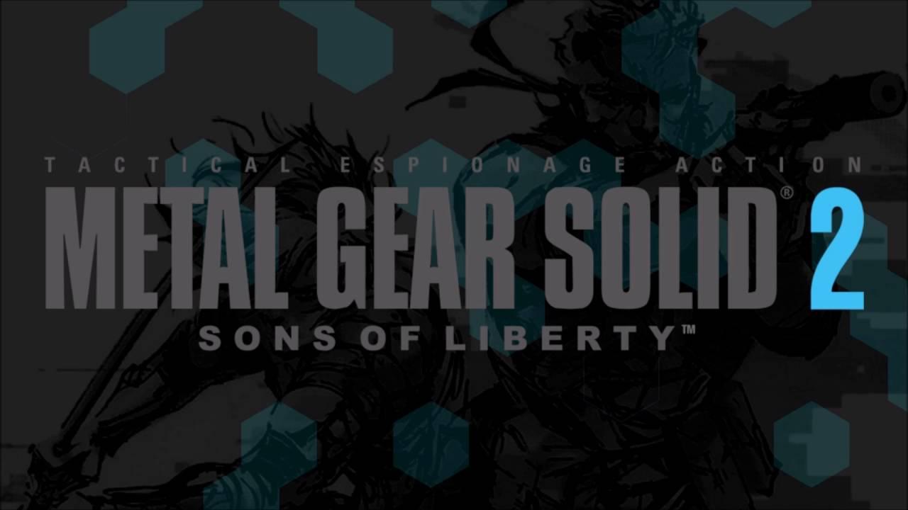 Metal Gear Solid 2 Sons of Liberty OST 'Main Menu'