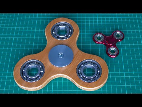 Thumbnail: How to make a fidget spinner stress toy