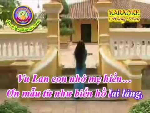 Karaoke Vong co - Vu Lan Nho Me - HD