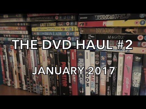 THE DVD HAUL #2 - January 2017
