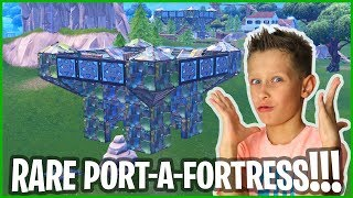 RARE PORT-A-FORTRESS VICTORY ROYALE!