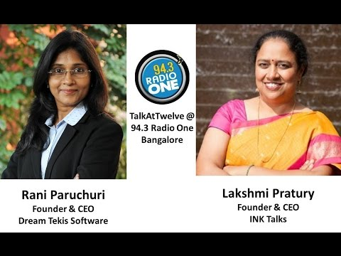 Rani Paruchuri interview by Lakshmi Pratury @ 94.3 Radio One Bangalore