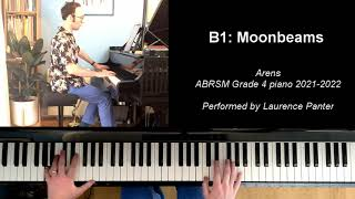 B:1 Moonbeams (ABRSM Grade 4 piano 2021-2022)
