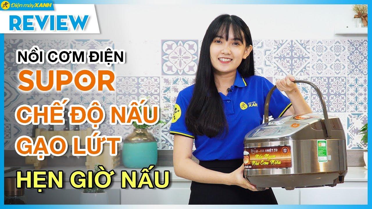 Nồi cơm điện cao tần Supor 1,8L: nấu cơm ngon như cơm niêu (CFXB50HC12VN-120) • Điện máy XANH