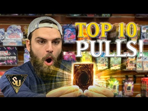 TOP 10 BEST YU-GI-OH! CARDS PULLS | NEW YEARS SPECIAL!! (2019)
