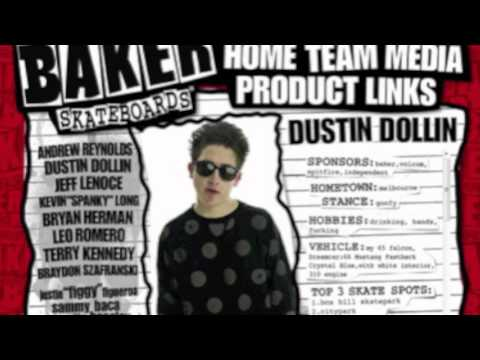 SKATE AND LISTEN : 4 / DUSTIN DOLLIN / BAKER HAS A DEATHWISH