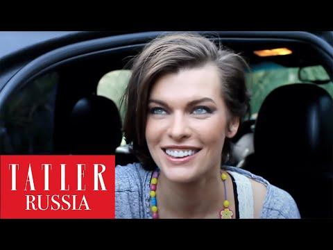 Три главных факта о России от Милы Йовович
