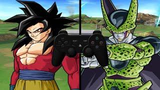 [TAS] DBZ BT3 Goku (GT) Vs. Cell (Super Enhanced Red Potara) (Request Match) [With Input Display]
