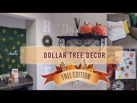 6 DOLLAR TREE DIY HOME DECOR IDEAS | Cute, Easy, & Cheap!!!🍁🍂