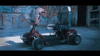 Insane 80hp Electric mobility scooter from HELL!