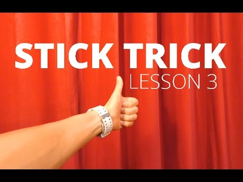 Как крутить барабанную палочку? Stick Trick   Lesson 3