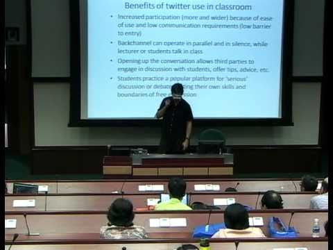 BuzzEd 2011: Let 'em tweet: social media in the classroom
