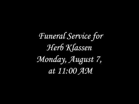 Herb Klassen Funeral Service