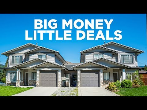 How to Make Big Money on Little Deals- Real Estate Investing