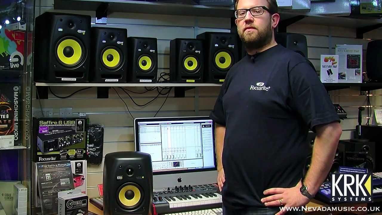 Beste KRK Rokit Active Studio Monitors Review @ PMTVUK - YouTube PZ-03