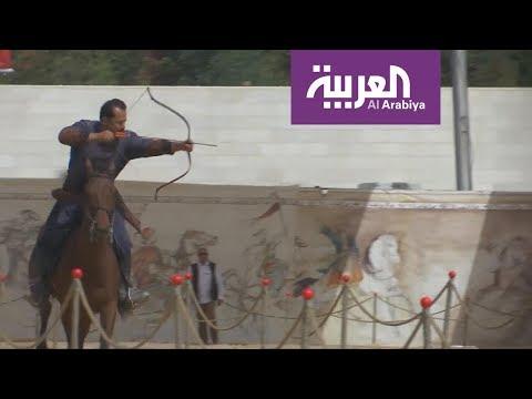 الرماية بالقوس رياضة تجذب الأردنيين  - 23:21-2018 / 4 / 22