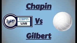 Chapin Varsity Volleyball vs Gilbert