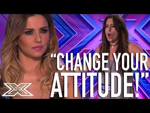 Cheryl Clashes With Contestant | X Factor Global