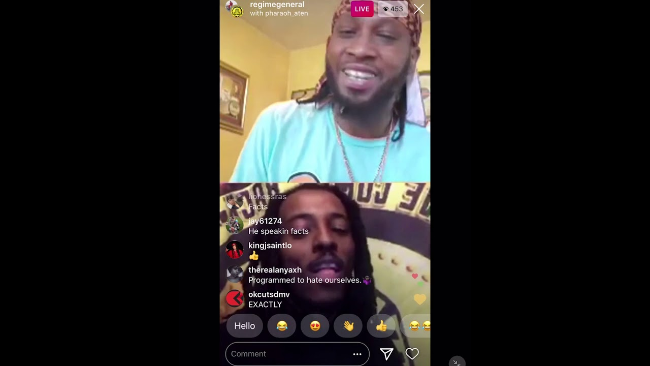 Yukmouth & Young Pharaoh IG LIVE....MUST SEE!!!