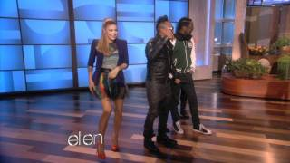 web exclusive the black eyed peas play their video game