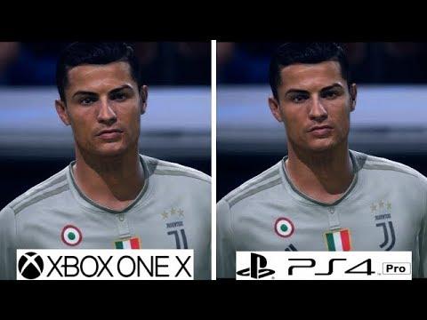 FIFA 19 | Xbox One X VS PS4 Pro | Graphics Comparison