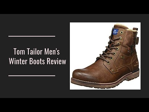 Tom Tailor Men's Winter Boots Review
