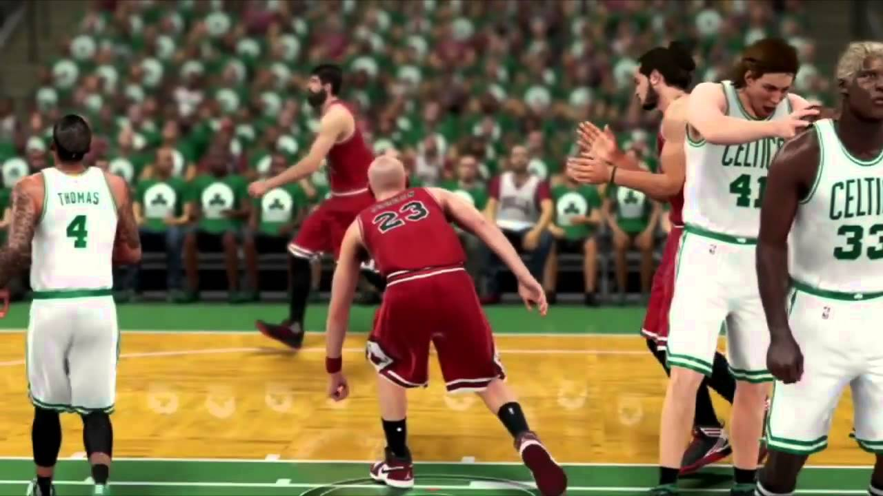 NBA 2k16  What if Michael Jordan was white  - YouTube 4b7eb8b9f