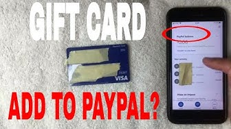 ✅  Can You Add Visa Debit Gift Card To Paypal 🔴