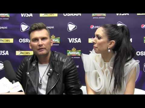 ESCKAZ in Kyiv: Interview with Koit Toome & Laura (Estonia)