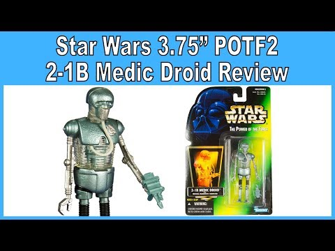 Star Wars 2-1B Medic Droid action figure Kenner 1997 Power of the Force 2