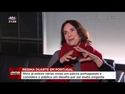 Regina Duarte em Portugal (2016) SIC notícias