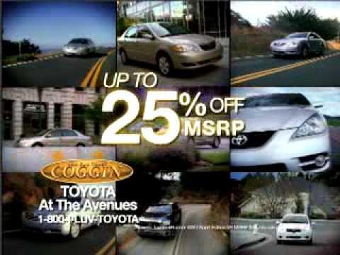 Coggin Toyota At The Avenues   25%