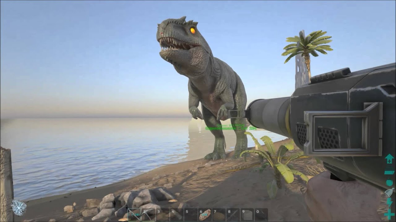Ark survival evolved giganotosaurus rage mode clipzui malvernweather Choice Image