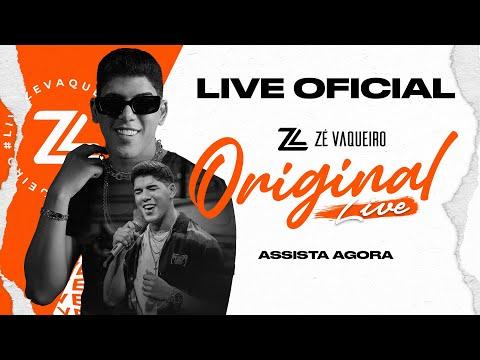 Live Zé Vaqueiro - O original [Oficial]