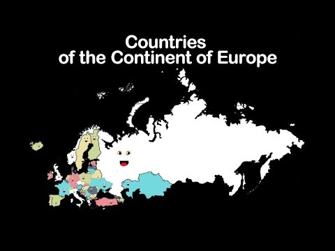 Europe Geography/ Europe Continent - YouTube