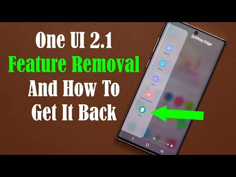 Samsung REMOVES Amazing Feature from One Ui 2.1 for Galaxy Smartphones (S20, Note 10, S10, etc)