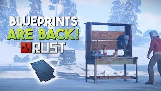 BLUEPRINTS ARE BACK! - Rust SOLO Survival